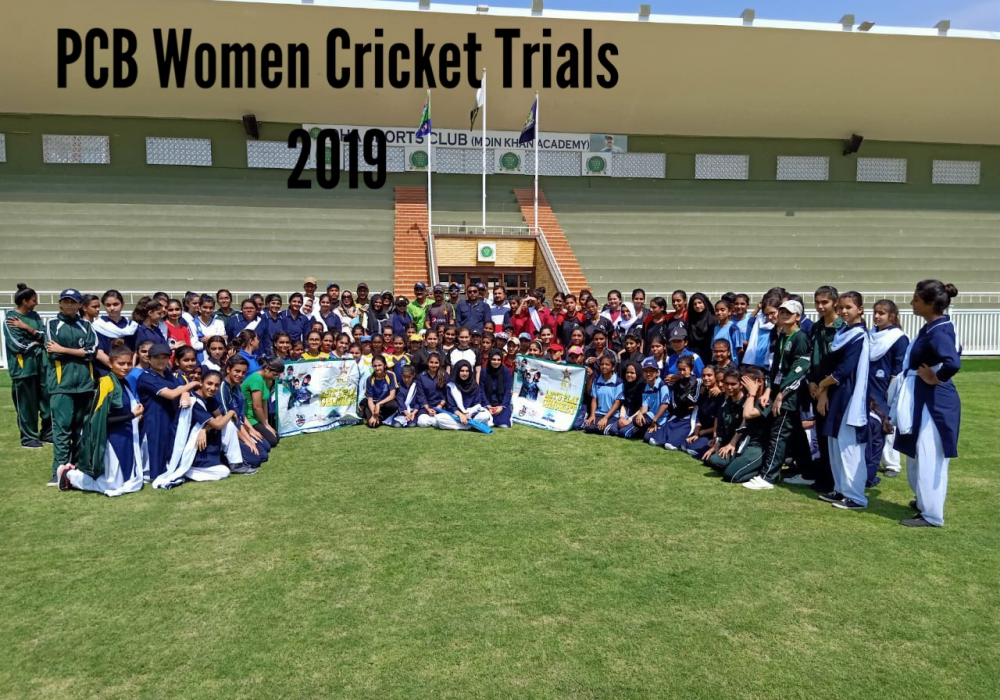 PCB Women Cricket Trials