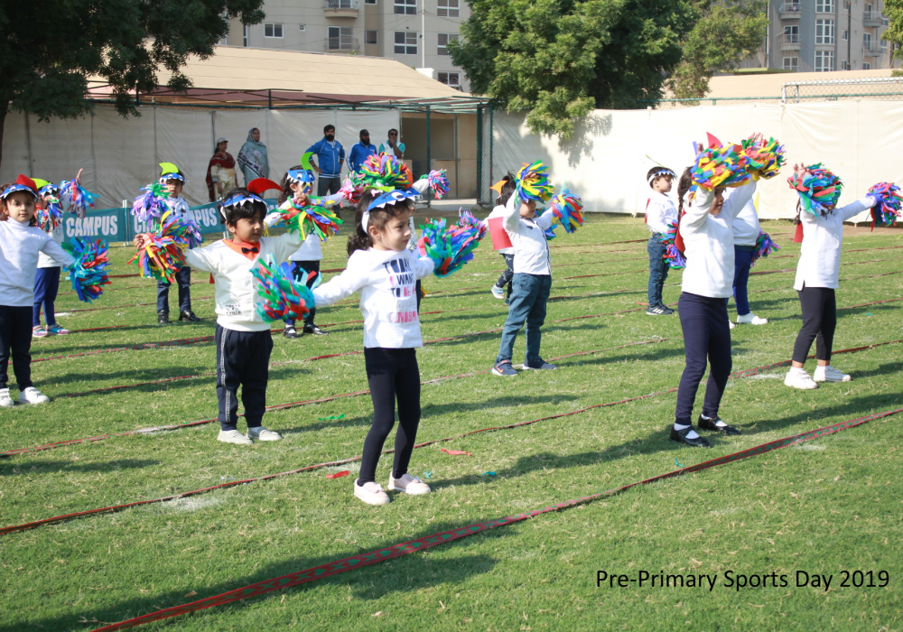 Pre-Primary Sports Day 2019-20