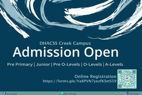 ADMISSIONS OPEN FOR SESSION 2020-2021